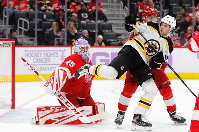 Detroit Red Wings vs. Boston Bruins - 2/9/20 NHL Pick, Odds, and Prediction