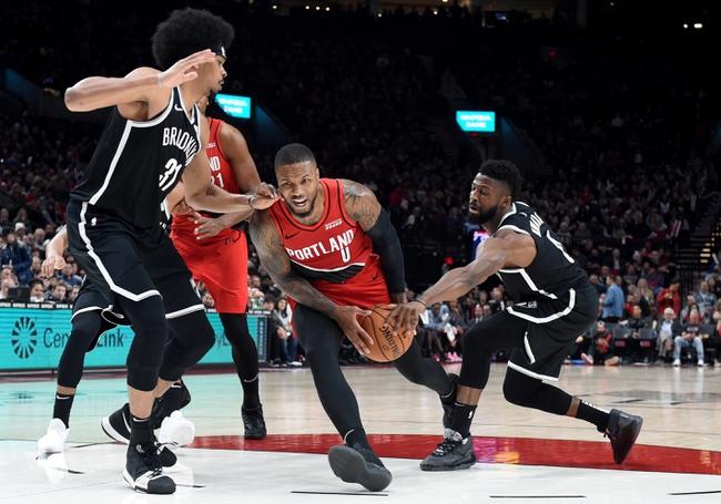 Brooklyn Nets vs. Portland Trail Blazers - 8/13/20 NBA Pick, Odds, and Prediction
