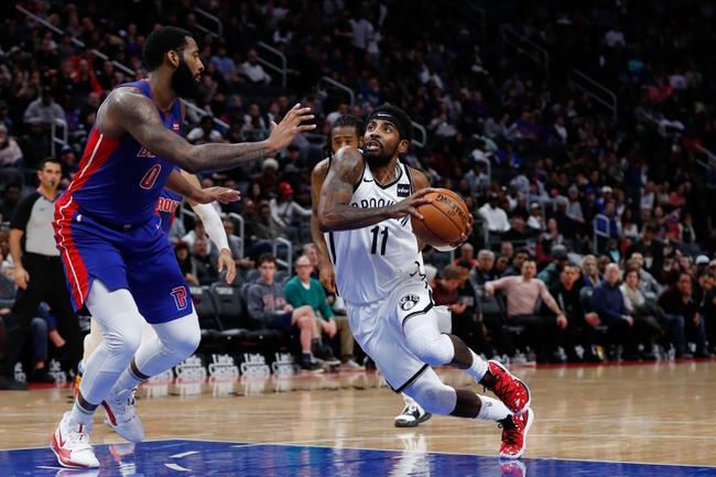 Detroit Pistons vs. Brooklyn Nets - 1/25/20 NBA Pick, Odds, and Prediction