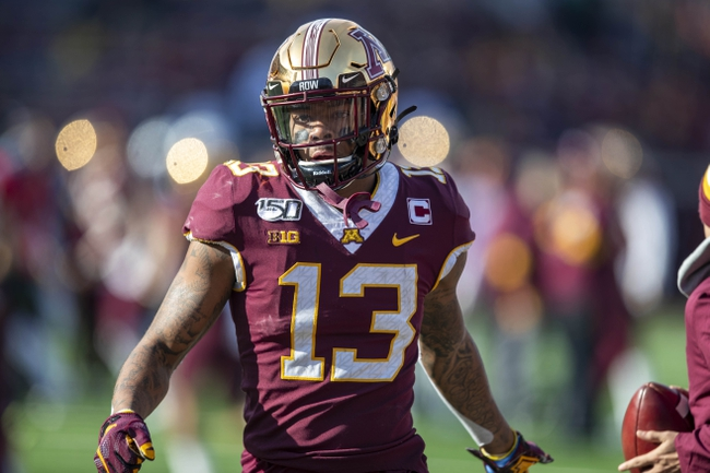 Minnesota vs. Wisconsin 10/10/20 Early Look College Football GOY Picks and Predictions