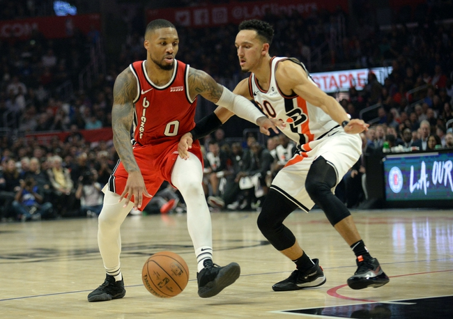 Los Angeles Clippers at Portland Trail Blazers - 8/8/20 NBA Picks and Prediction