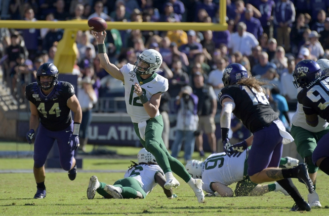 TCU at Baylor - 10/24/20 Early look College Football GOY Picks and Predictions