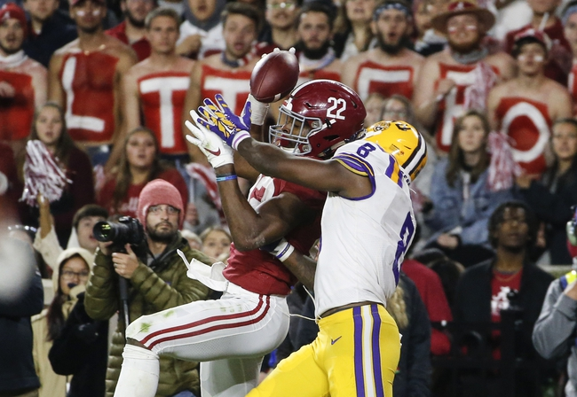 Alabama vs. LSU - 11/7/20 Early Look College Football GOY Pick, Odds, and Prediction