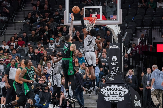 Boston Celtics vs. San Antonio Spurs - 1/8/20 NBA Pick, Odds, and Prediction