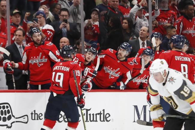 Vegas Golden Knights vs. Washington Capitals - 2/17/20 NHL Pick, Odds, and Prediction