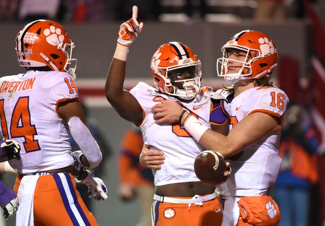 Clemson vs. Wake Forest - 11/16/19 College Football Pick, Odds, and Prediction