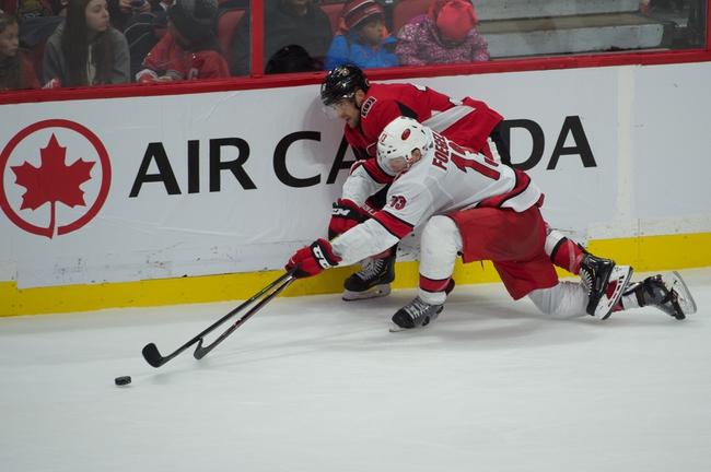 Carolina Hurricanes vs. Ottawa Senators - 11/11/19 NHL Pick, Odds, and Prediction