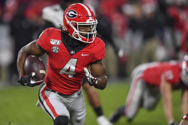 Auburn Tigers vs. Georgia Bulldogs - 11/16/19 NCAA Football Pick, Odds, and Prediction