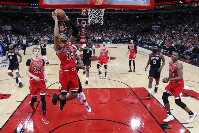 Chicago Bulls vs. Houston Rockets NBA Picks, Odds, Predictions 12/11/20