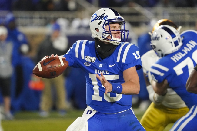 Duke vs. Syracuse - 11/16/19 College Football Pick, Odds, and Prediction