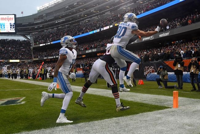 Chicago Bears at Detroit Lions - 11/28/19 NFL Pick, Odds, and Prediction