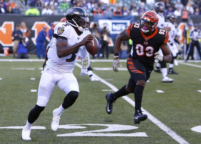 Game Day: Cincinnati Bengals at Baltimore Ravens NFL Picks & Predictions 10/11/20