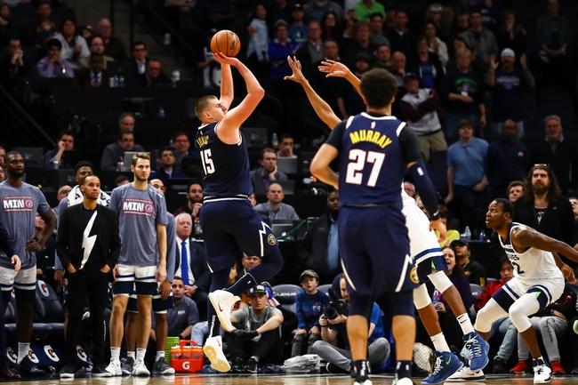 Denver Nuggets vs. Minnesota Timberwolves - 12/20/19 NBA Pick, Odds, and Prediction