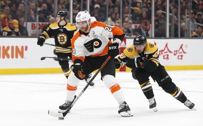 Philadelphia Flyers vs. Boston Bruins - 1/13/20 NHL Pick, Odds & Prediction