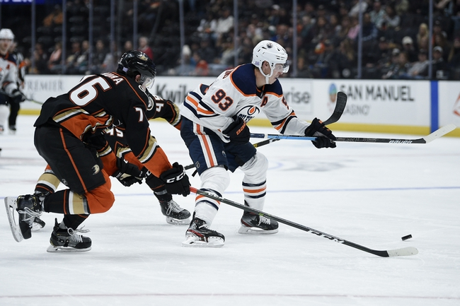 Anaheim Ducks vs. Edmonton Oilers - 2/25/20 NHL Pick, Odds, and Prediction