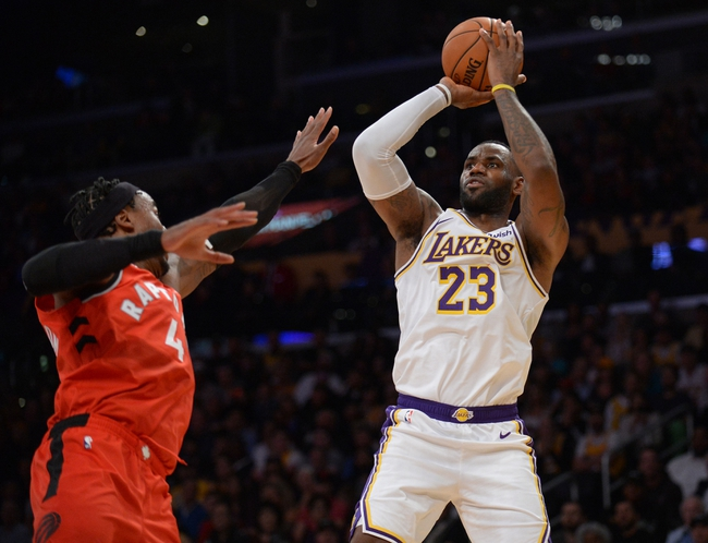 Los Angeles Lakers at Toronto Raptors - 8/1/20 NBA Picks and Prediction
