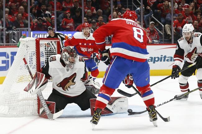 Arizona Coyotes vs. Washington Capitals - 2/15/20 NHL Pick, Odds, and Prediction