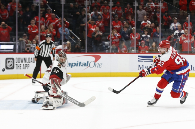 Arizona Coyotes vs. Washington Capitals - 2/15/20 NHL Pick, Odds & Prediction