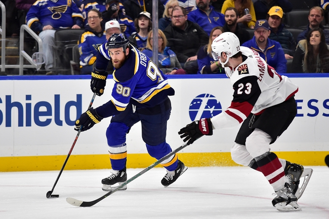 Arizona Coyotes vs. St. Louis Blues - 12/31/19 NHL Pick, Odds & Prediction