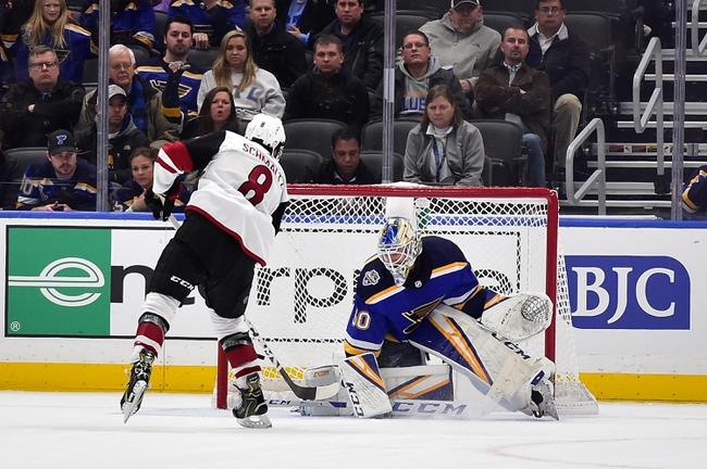 St. Louis Blues vs. Arizona Coyotes - 2/20/20 NHL Pick, Odds, and Prediction