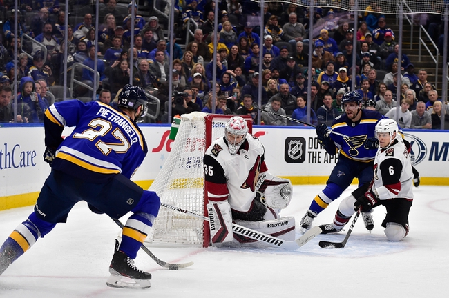 St. Louis Blues vs. Arizona Coyotes - 2/20/20 NHL Pick, Odds & Prediction