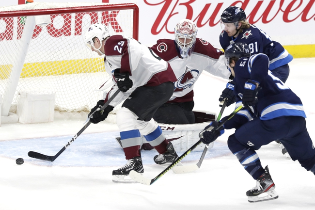 Colorado Avalanche vs. Winnipeg Jets - 12/31/19 NHL Pick, Odds & Prediction