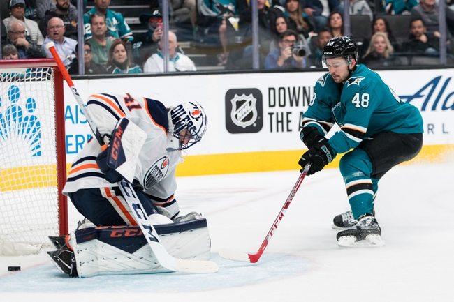 San Jose Sharks vs. Edmonton Oilers - 11/19/19 NHL Pick, Odds, and Prediction