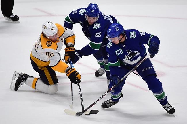 Vancouver Canucks vs. Dallas Stars - 11/14/19 NHL Pick, Odds, and Prediction