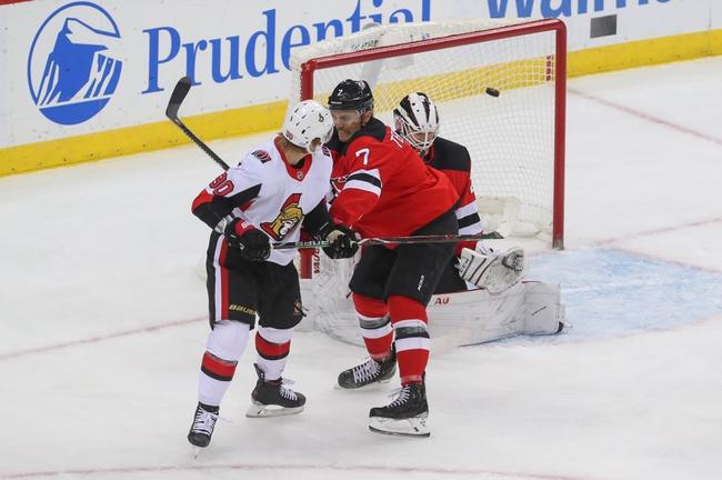 Ottawa Senators vs. New Jersey Devils - 12/29/19 NHL Pick, Odds & Prediction