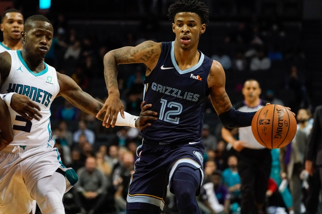 Memphis Grizzlies vs. Charlotte Hornets - 12/29/19 NBA Pick, Odds, and Prediction