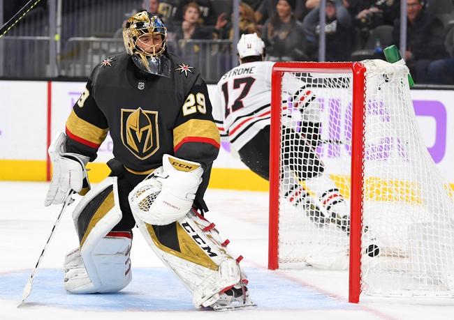 Vegas Golden Knights vs. Chicago Blackhawks - 12/10/19 NHL Pick, Odds, and Prediction