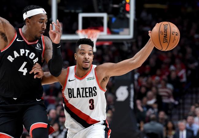 Toronto Raptors vs. Portland Trail Blazers - 1/7/20 NBA Pick, Odds & Prediction