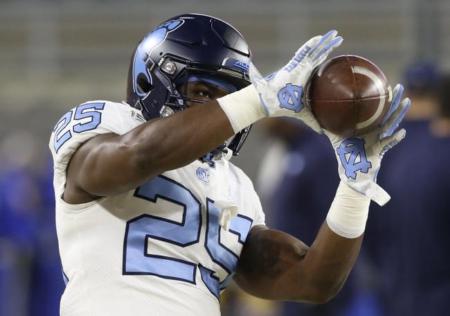 North Carolina vs. Mercer - 11/23/19 College Football Pick, Odds, and Prediction