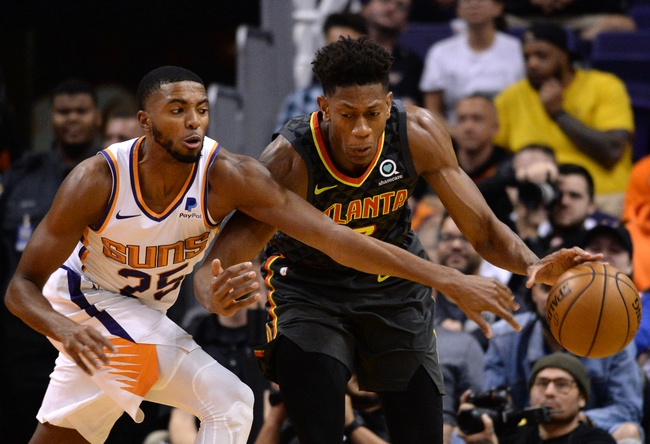 Atlanta Hawks vs. Phoenix Suns - 1/14/20 NBA Pick, Odds & Prediction