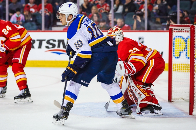 St. Louis Blues vs. Calgary Flames - 11/21/19 NHL Pick, Odds, and Prediction