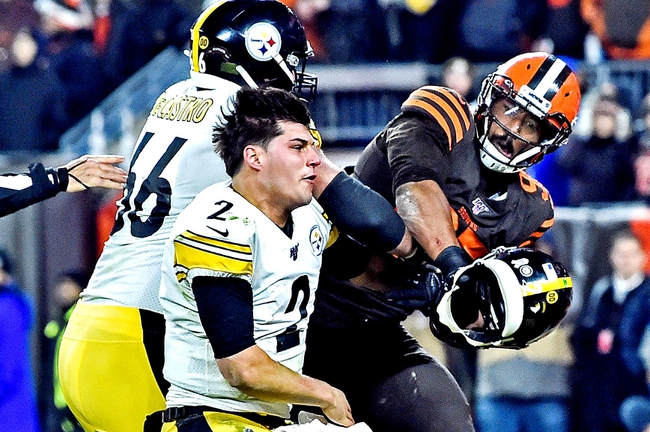 Cleveland Browns at Pittsburgh Steelers - 12/1/19 NFL Pick, Odds, and Prediction