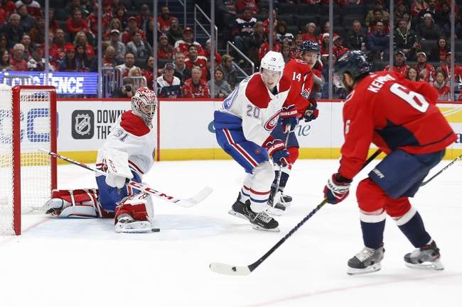 Montreal Canadiens vs. Washington Capitals - 1/27/20 NHL Pick, Odds, and Prediction