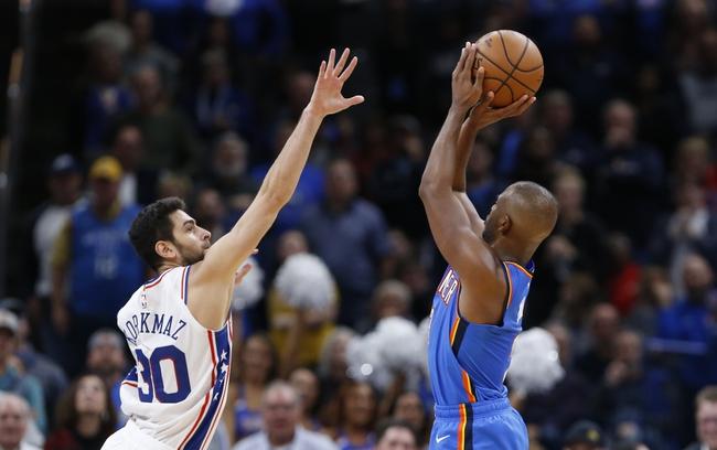 Philadelphia 76ers vs. Oklahoma City Thunder - 1/6/20 NBA Pick, Odds, and Prediction