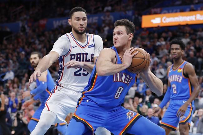 Philadelphia 76ers vs. Oklahoma City Thunder - 1/6/20 NBA Pick, Odds & Prediction