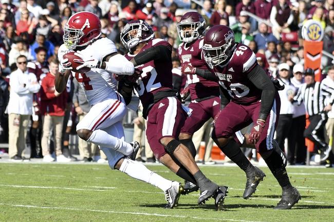 Auburn vs. Alabama - 11/30/19 College Football Pick, Odds, and Prediction