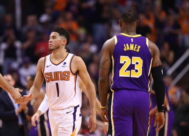 Los Angeles Lakers vs. Phoenix Suns - 1/1/20 NBA Pick, Odds & Prediction