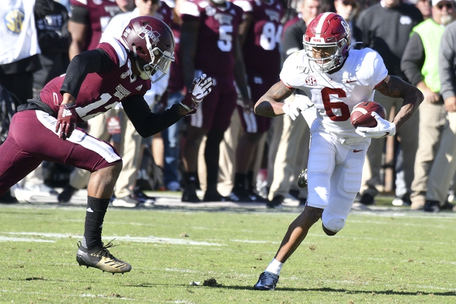 Mississippi State at Alabama - 10/17/20 Early look College Football GOY Picks and Predictions
