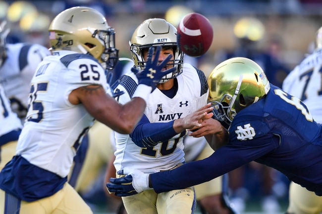 Navy vs. Notre Dame - 8/29/20 Early look College Football GOY Picks and Predictions