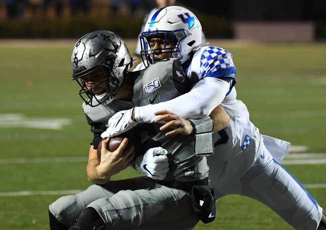 Vanderbilt Commodores vs. East Tennessee State Buccaneer - 11/23/19 College Football Pick, Odds, and Prediction