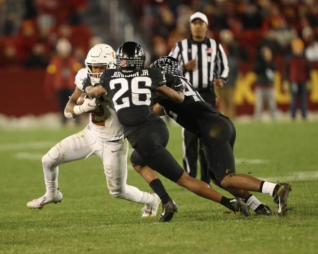 Iowa State Cyclones vs. Kansas Jayhawks - 11/23/19 College Football Pick, Odds, and Prediction