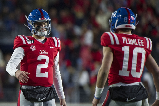 Baylor vs. Ole Miss - 9/6/20 Early Look College Football GOY Pick, Odds, and Prediction