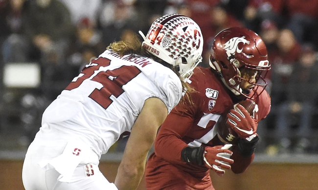 Cancelled: Stanford vs Washington State College Football Picks, Odds, Predictions 11/21/20