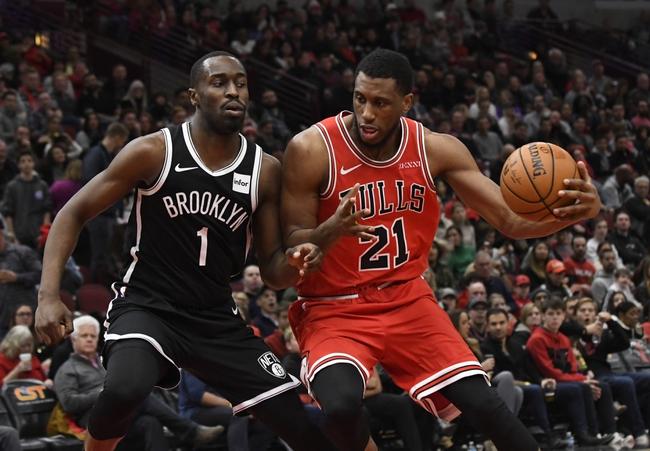 Brooklyn Nets vs. Chicago Bulls - 1/31/20 NBA Pick, Odds, and Prediction