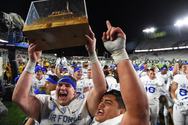 Air Force Falcons vs. Wyoming Cowboys - 11/30/19 College Football Pick, Odds, and Prediction