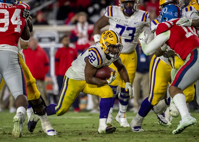 Ole Miss at LSU 12/19/20 College Football Picks and Predictions